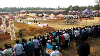 mrf national motocross racing championship goa 2017   supercross   tvs racing   off roading