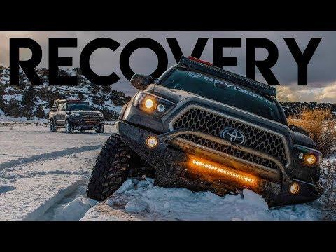 "We made it! Recovering 3 Tacomas On Snow Trail | Sedro Woolley, Washington + Pre Runner Walkaround"""