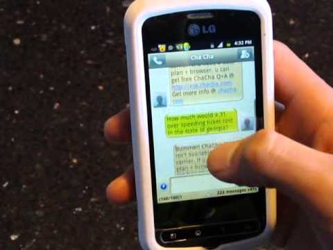 LG OPTIMUS Q STRAIGHTTALK REVIEW PART 2