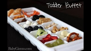 How To Make A Toddler Mini Buffet - Baby Gizmo