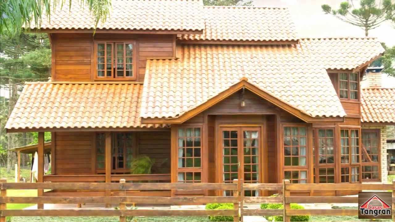 Casas tangran sua leg tima casa de madeira youtube - Casas de madera portugal ...