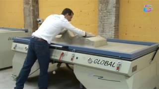 Vacuum forming and sublimation of Solid Surface material