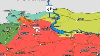 6 июня 2018. Военная обстановка в Сирии. Курдские отряды YPG покидают город Манбидж.