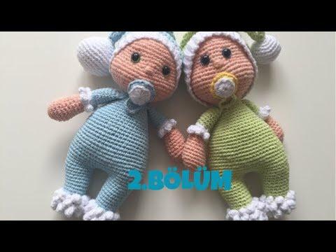 Amigurumi Erkek Tavşan Yapılışı- Amigurumi Crackers Bunny Free Pattern | 360x480