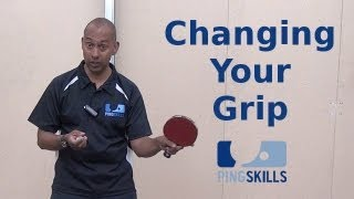 Changing Table Tennis Grip When Switching Between Backhand And Forehand