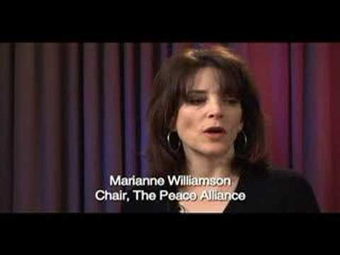 Marianne Williamson Department of Peace Interview