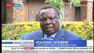 COTU SG Francis Atwoli rejects government\'s proposal to deduct employees\' money for housing project