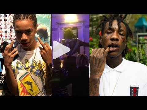 Lil Wop allegedly chased YBN Nahmir into a Trailer @ Rolling Loud tryna beat him up. Nahmir responds