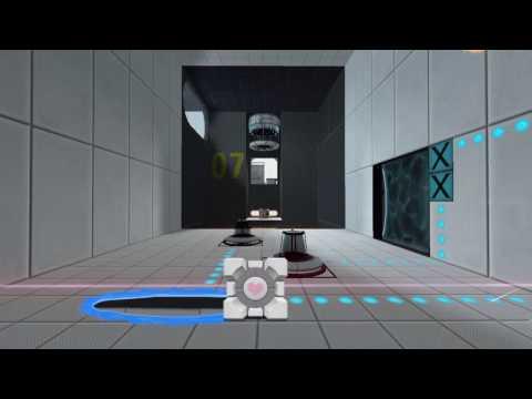 Portal Companion Cube Bounce