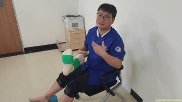 28.(환자용.설명) 발목 염좌/불안정성의 치료 3/6. 비골건 강화 운동법 3가지 [강찬.충남대.Chan KANG]