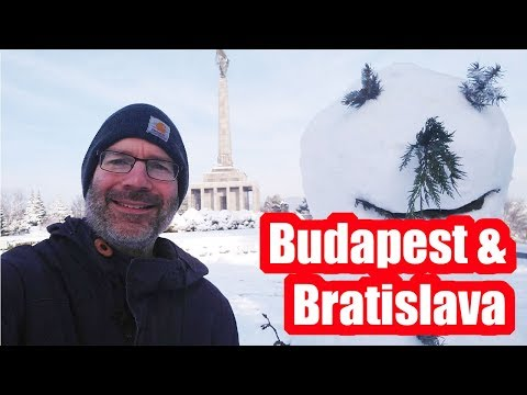 Budapest Hungary and Bratislava Slovakia Travel Vlog 2019! Part 2!