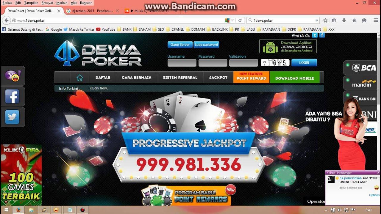 Poker Sejati Daftar Dewa Poker 88