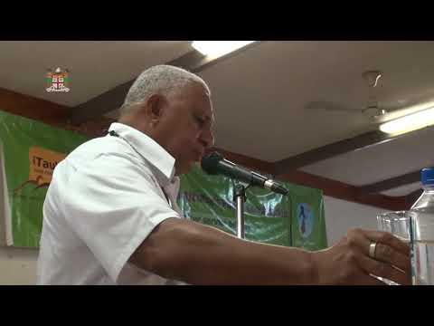 Fijian Prime Minister holds Public Consultation in Lautoka.