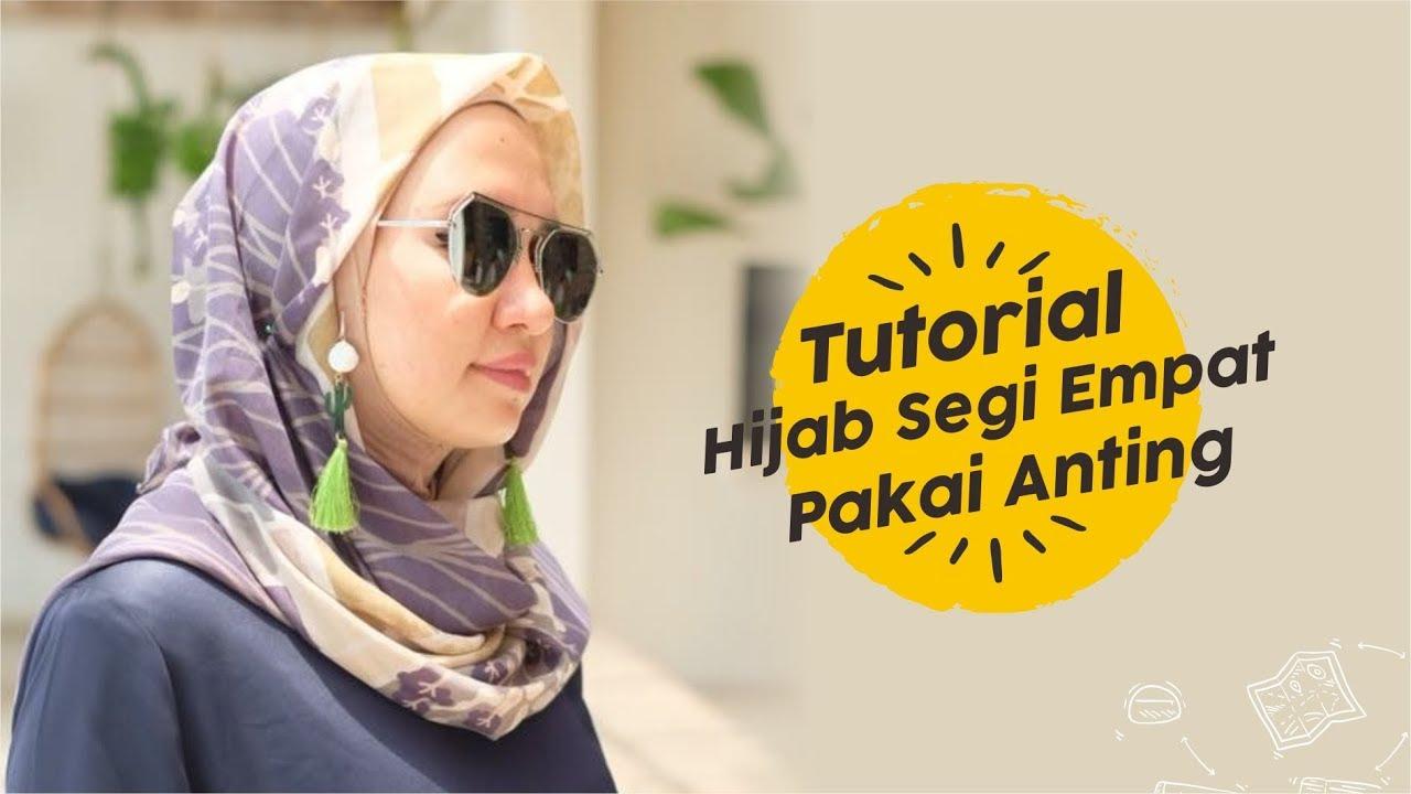 Tutorial Hijab Turban Tutorial Hijab Segiempat Jadi Turban Youtube
