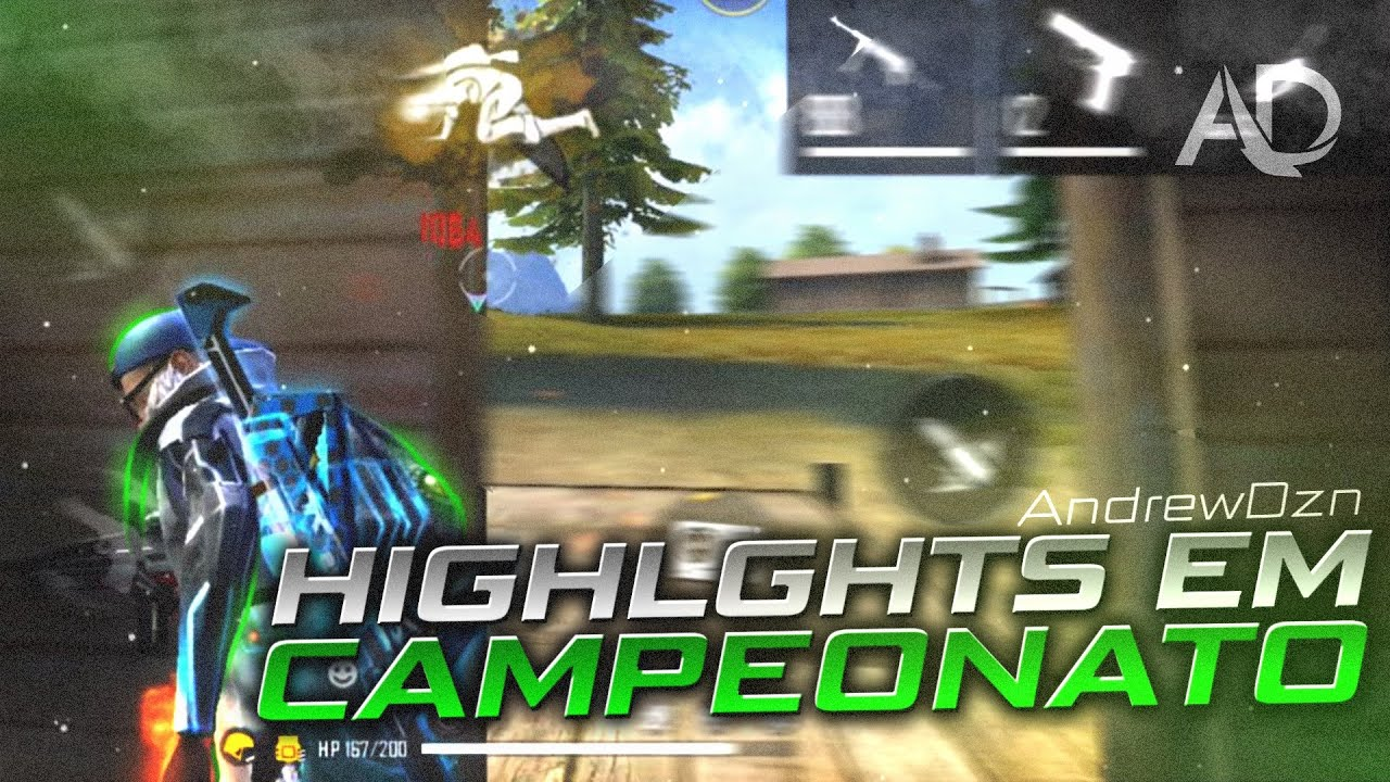 HIGHLIGHTS EM CAMPEONATO ⚡️ iphone 8 plus free fire 😮