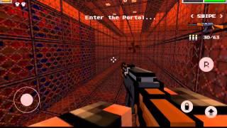 Pixel gun 3D приключение 3 звезды