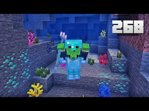 Let's Play Minecraft - Ep.268 : Epic Water Cave Adventure!