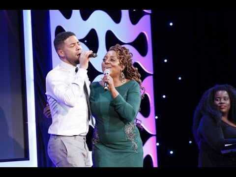 Jussie Smollett gives surprise performance with Ledisi at #glaadgala San Francisco