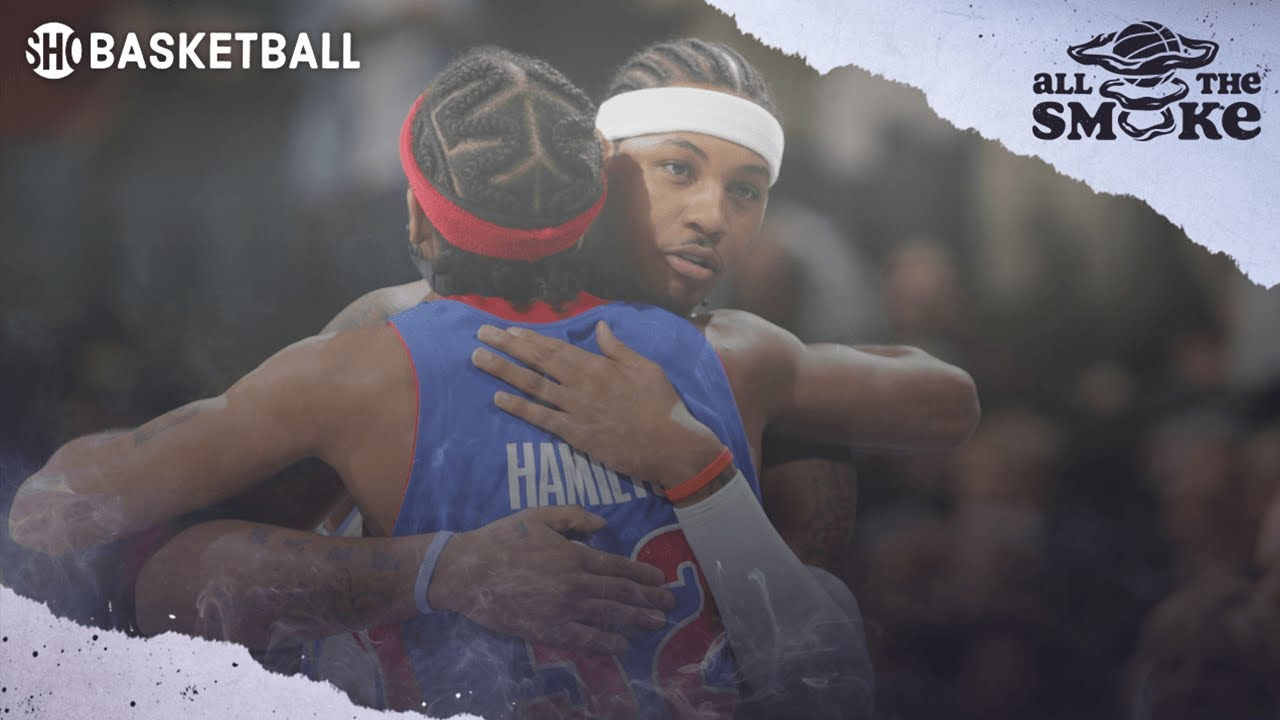 Download Rip Hamilton: Pistons Would Have Won 3 NBA Titles If They Drafted Carmelo Anthony | ALL THE SMOKE