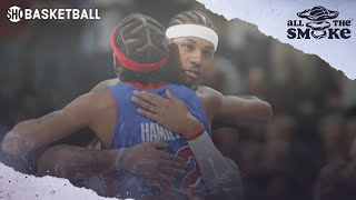 Rip Hamilton: Pistons Would Have Won 3 NBA Titles If They Drafted Carmelo Anthony | ALL THE SMOKE