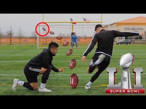 INSANE NFL GOALS YOU WONT BELIEVE | SUPERBOWL EDITION