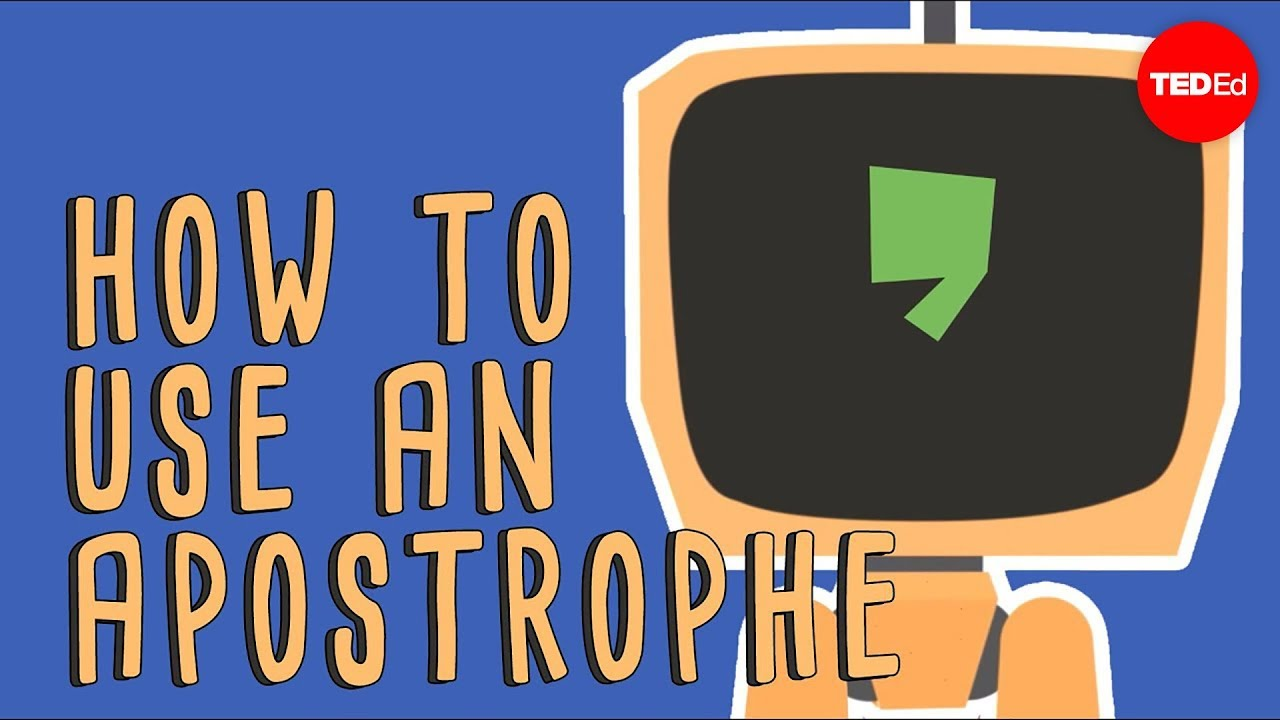When to use apostrophes - Laura McClure - YouTube [ 720 x 1280 Pixel ]