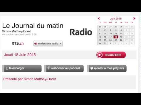 Radio RTS.ch - Le journal du matin - Bitcoin
