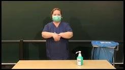 Korrekte Verwendung des Mund-Nasen-Schutzes