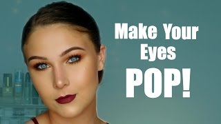 How To Make Blue Green Eyes POP!