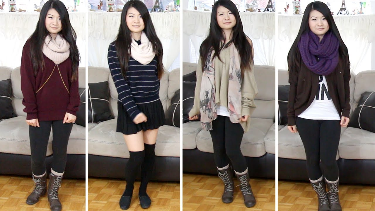 Lookbook Styling Lazy Bummy Day Outfits For Fall Winter 2013