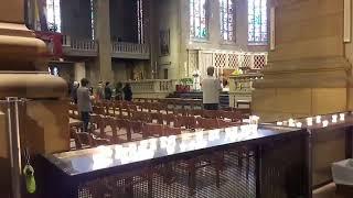 Un hommage à la cathédrale de Luxembourg pour le Grand-Duc Jean