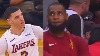 8d061ee096cf Lonzo Ball Shows LeBron James Why He Shouldn t Join the Lakers! - eDayfm ~  Match videos