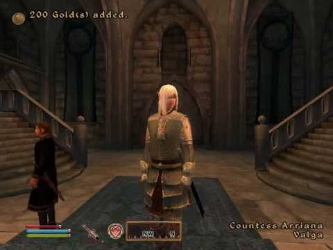 Oblivion Side Quest Guide : Canvas the Castle