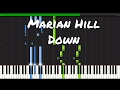 Marian Hill - Down Piano Tutorial