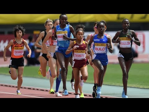 Women's 3000m OSAKA GOLDEN GRAND PRIX 2018