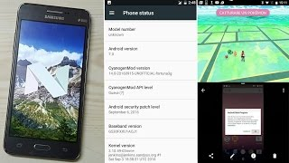 Install Android 7.0 Nougat (CM14) on Galaxy Grand Prime