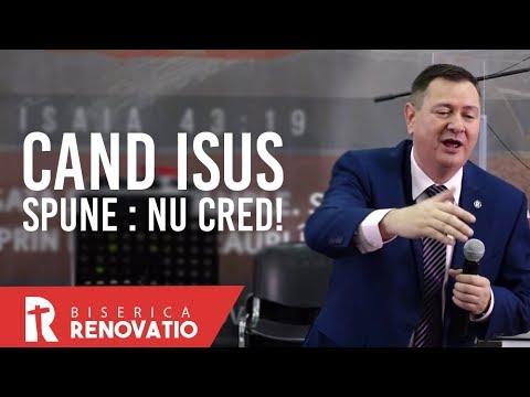 Florin Ianovici - Când Isus spune : Nu cred! | BISERICA RENOVATIO