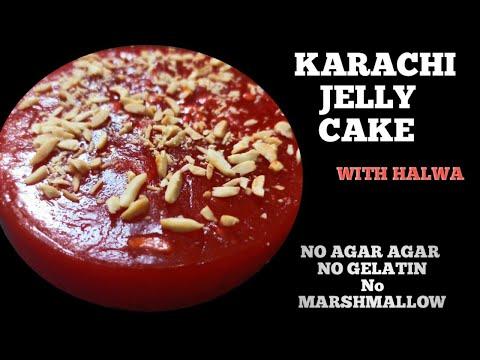 jelly cake recipe without gelatin,agar agar  karachi halwa cake easy dessert recipe Cornflour recipe from YouTube · Duration:  3 minutes 26 seconds