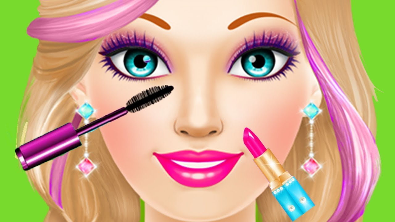 Fun Girl Care Games - Magic Princess Spa Makeup Makeover -4128
