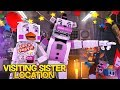Funtime Chica Visits Sister Location- Minecraft Fnaf Roleplay