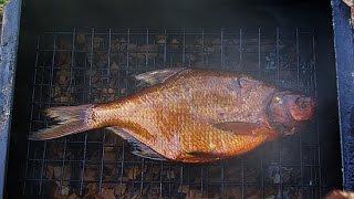 Самодельная Коптильня для Рыбы Своими Руками ! Копчение в Домашних Условиях Видео