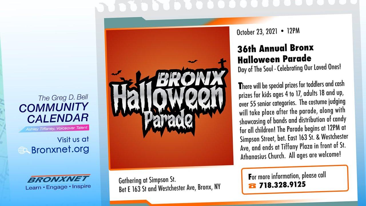 Community Calendar   Oct 21-27, 2021