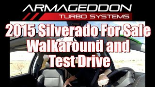 2015 Silverado For Sale Walkaround and Test Drive