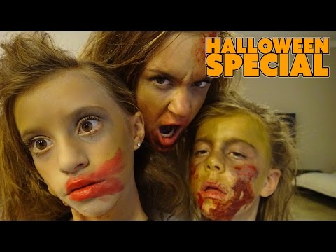 ☠ HALLOWEEN SPECIAL ☠ SPOOKTOBER ☠ THE ZOMBIE FAMILY☠ SMELLY BELLY TV