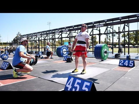 CrossFit Games Masters Live Stream: Deadlift Ladder