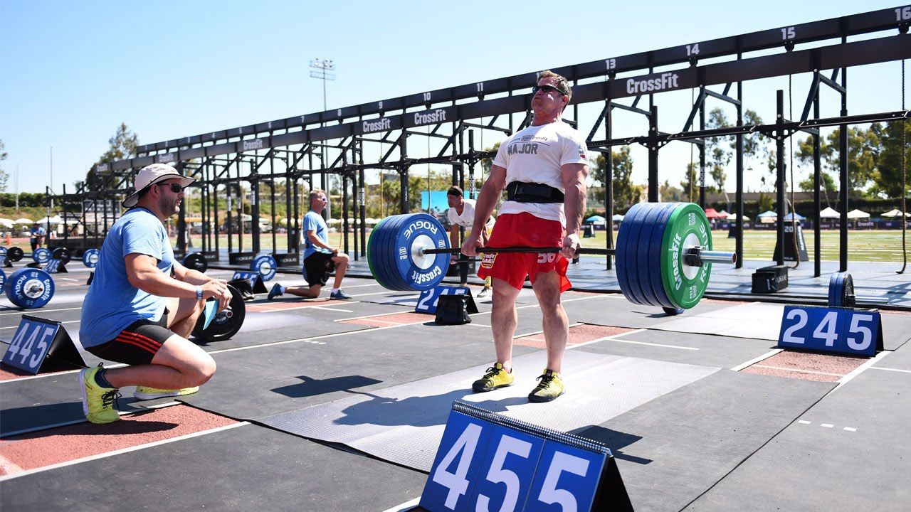 Crossfit Games Masters Live Stream Deadlift Ladder Youtube