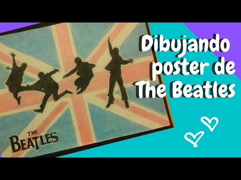 SPEED DRAWING THE BEATLES -POSTER ✎   Mimicha MA
