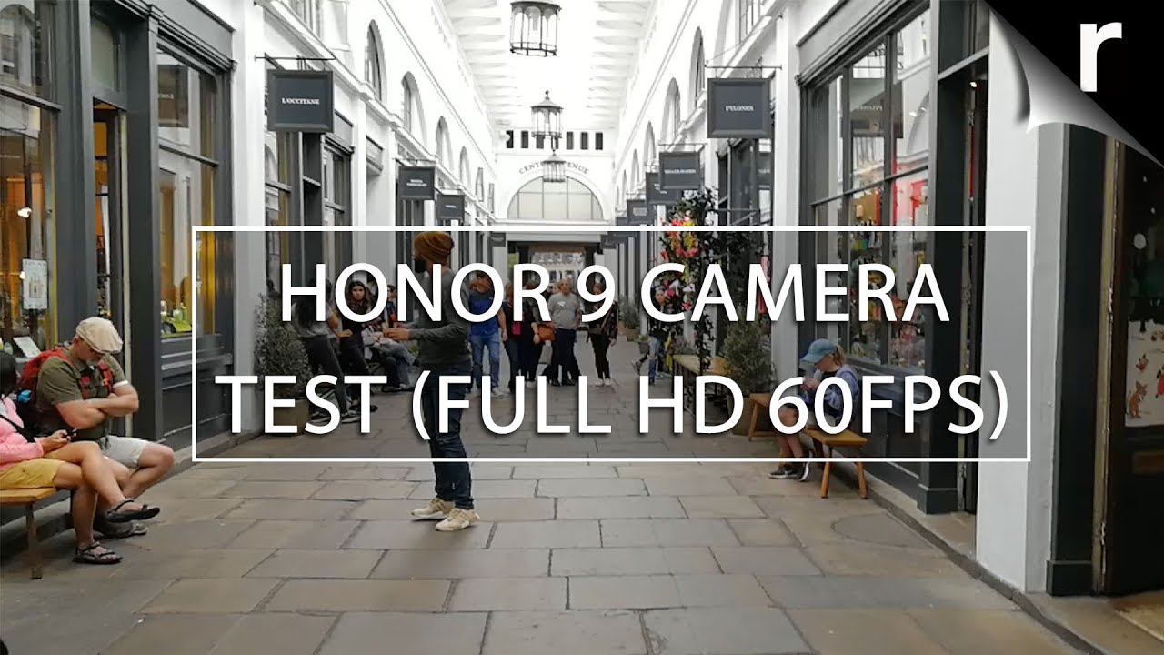 Honor 9 camera test video sample (Full HD 60FPS) - YouTube