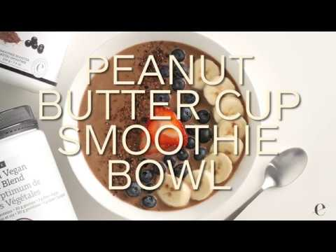 Peanut Butter Cup Smoothie Bowl