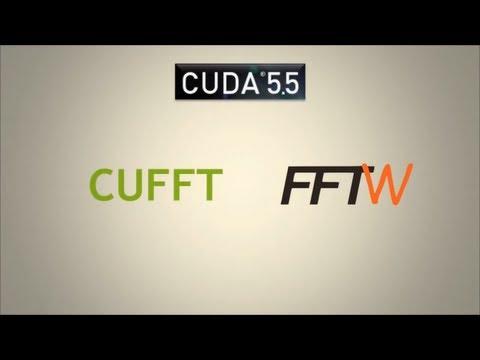 CUDACast #8 - CUDA 5.5 cuFFT FFTW API Support